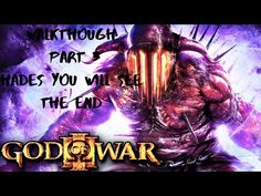 Sullet me dudes and dudets welcome to God of war 3 where kratos gets revenge on the gods but can his rage cut it only time will tell The End, God Of War, Hades, See You, Movie Posters, Greek Underworld, Film Poster, Billboard, Film Posters