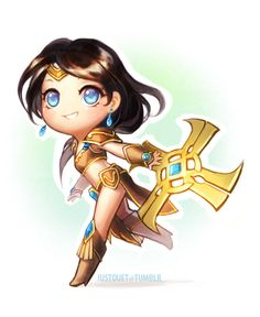 Sivir league of legends League Of Legends Characters, Chibi Characters, Lol League Of Legends, V Games, Funny Games, Starcraft, Liga Legend, Videogames, Chibi Marvel