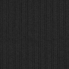 Feinstrick Rippe 8 – schwarz
