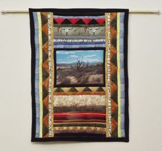Southwest Photo & Pieced Quilt Wall Art Moab by SouthwestQuilts, $200.00
