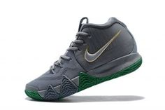 6616b20b33f0 Interesting Nike Kyrie 4 Cool Grey White 943806 001 Men s Basketball Shoes  Jordan Shoes For Sale