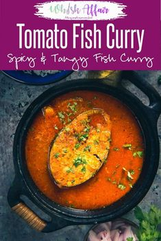 Tomato fish curry is an easy to make Fish Curry and is made in a tomato based gravy. It goes very well with steamed rice. Whole30 Fish Recipes, Easy Fish Recipes, Seafood Recipes, Cooking Recipes, Indian Prawn Recipes, Indian Dessert Recipes, Italian Dinner Recipes, Sunday Dinner Recipes, Keto Dinner