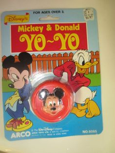 disney park posters 1980 | Vintage 1970s 1980s Walt Disney Mickey and Donald by kookykitsch, $12 ...