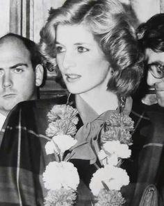 Diana...rare photo.