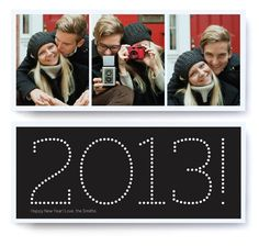 The new year looks luminous when you send this bold, sophisticated card!!! Bebe'!!! Love this gift idea!!!