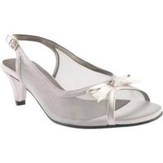 Shop for Women's David Tate Prom Silver Mesh/Satin. Get free shipping at Overstock.com - Your Online Shoes Outlet Store! Get 5% in rewards…