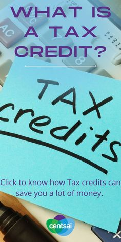 Tax credits can save you a lot of money. Make sure you know what they are and how they work. #taxcredit #taxes #taxseason #tax #taxcredits #incometax #taxpreparer #taxrefund #taxplanning #irs Ways To Save Money, Make More Money, Money Saving Tips, Extra Money, Make Money Online, Financial Literacy, Financial Planning, Tax Credits, Thing 1