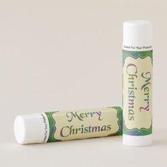 Merry Christmas Lip Gloss - Set of 12 Lip Balm - Xmas ChristmasEve Christmas Eve Christmas merry xmas family kids gifts holidays Santa