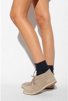 desert boot. UO.