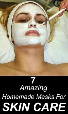7 Amazing Homemade Masks For Your #Skincare