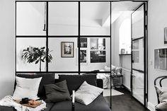 55 Brilliant Smart Studio Apartment Decoration Ideas - Page 49 of 55 Studio Apartment Decorating, Apartment Interior Design, Living Room Designs, Living Room Decor, Living Spaces, Appartement Design, Tiny Apartments, Studio Apartments, Studio Living