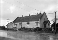St Columba Church Grey Lynn No known copyright. Please acknowledge Sir George Grey Special Collections, Auckland Libraries 4-3772 when re-using