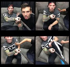 Josh is ticklish. Idk why I find that adorable. That's all. You can continue scrolling now.