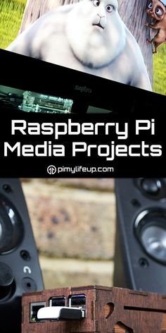 These Raspberry Pi media projects will help turn your Pi into a media center. Electrical Projects, Electronics Projects, Diy Electronics, Arduino, Raspberry Computer, Raspberry Projects, Rasberry Pi, Diy Tech, Pi Projects