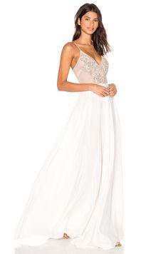 Lurelly Geneva Gown in White $900