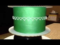 couture cakes by rose: How to do royal icing oriental string work, via youtube