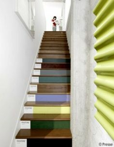 Pantone Stairs, only in my future artf&*k house
