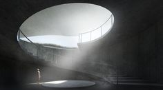 Gallery of Korean Demilitarized Zone Underground Bathhouse Competition Winners Announced - 18