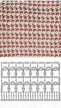 Schéma ou diagramme pour crochet Modèle points divers