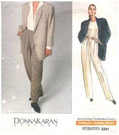 Image result for donna karan vogue patterns