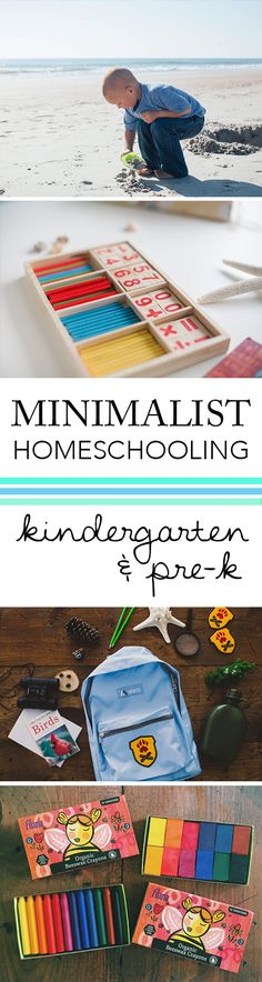Minimalist Classroom Management ~ Ways to have a peaceful homeschool room best