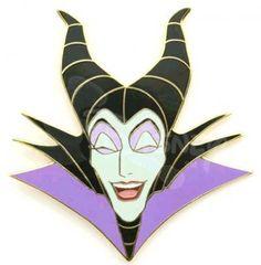 Maleficent - laugh pin