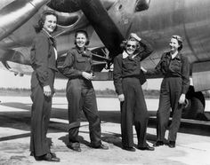 Group of WASP and Bomber - The Betty H. Wasp, Working Woman, Women In History, Second World, Military Aircraft, Armed Forces, Powerful Women, World War Ii, Amazing Women