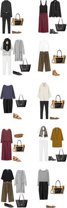 Teacher Capsule What to Wear Outfit Options 11-20 #capsule #capsulewardrobe…