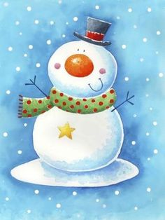 Leading Illustration & Publishing Agency based in London, New York & Marbella. Christmas Clipart, Christmas Snowman, Winter Christmas, Vintage Christmas, Merry Christmas, Art Drawings For Kids, Cute Drawings, Christmas Pictures, All Things Christmas