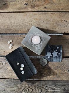 Mrs. Monday: DIY Dekor av sement // DIY Concrete decor