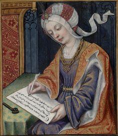 Penelope -- Huntington Library Ms HM 60, f°3