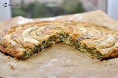 placinte spanac 34 Spanakopita, Feta, Pork, Cooking Recipes, Ethnic Recipes, Kale Stir Fry, Cooker Recipes, Pigs, Chef Recipes