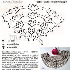 Patrones para Crochet: 3 Collares de Crochet Diferentes