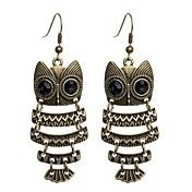 Vintage Owl Earrings – USD $ 5.99