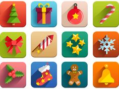 New Year icons by Kirill
