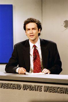 Weekend Update Hosts Through The Years Norm Macdonald 1994 1997