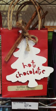 Make your own delish hot chocy from Harvey Nichols Food market!! #yumm