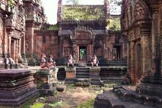 Siem Reap:  Banteay Srei, Banteay Srei, Cambodia