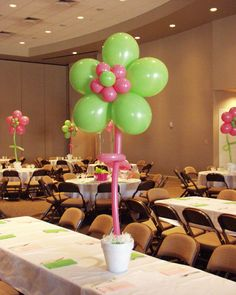 Balloon Flowers by Ideal Party Decorators - www.idealpartydecorators.com