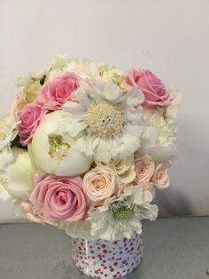 Ramillete de flor variada. Cangas del Narcea. Floristería la Plaza. Teléfono 985811511. Nos gustan las bodas!!!! ❤️❤️❤️❤️