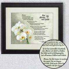Verschenke rührende Worte zum Muttertag. Dieses Bild mit Gedicht wird Deiner Mutter mit Sicherheit viel Freude bereiten. via: www.monsterzeug.de