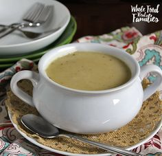 Easy Turkey Gravy - via Whole Food | Real Families