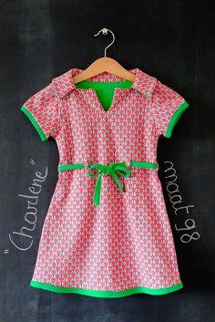 Lienepien: Charlene, een tricot jurkje