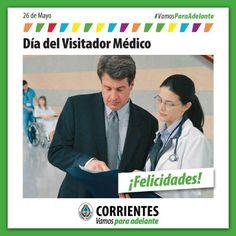 Feliz día a todos los visitadores médicos!!! #VamosParaAdelante
