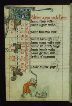 Book of Hours, Marginalia, Walters Manuscript W.88, fol. 12v by Walters Art Museum Illuminated Manuscripts http://flic.kr/p/hyRXzq