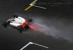 McLaren-Honda Formula 1 Concept with closed cockpit on ID Magazine Red Bull F1, Id Magazine, Mercedes, Conceptual Art, Concept Cars, Motor, Grand Prix, Cool Cars, Race Cars