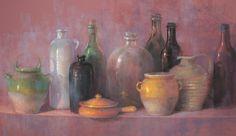 Claude Texier - pastel