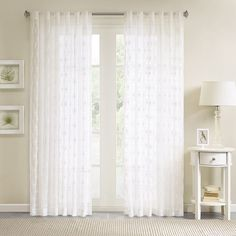 Madison Park 1 Panel Kida Sheer Window Curtain