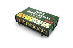 AMT Fulcrum PS-512V  AMT Electronics presents new products in the module power supply series, now they are linear power supplies with AC Network transformers. The devices have galvanic isolated output sections with a choice of voltages and load currents and are intended to feed pedal-boards with preamps and guitar effect pedals.