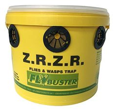 The Fly Buster Industrial is designed for farm ranch and other industrial uses. The non-toxic natural bait is animal safe perfect for farms. With an ability to capture 3 million flies the Industri...